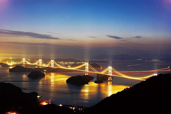 セフレと雰囲気作りにオススメするスポット しまなみ海道